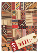 Kelim Patchwork matta ABW248