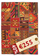 Kilim Patchwork carpet ABW129