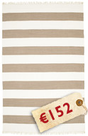 Cotton stripe - Brown carpet CVD4894