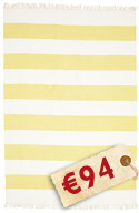 Cotton stripe - Yellow carpet CVD4937