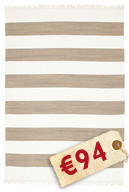 Cotton stripe - Brown carpet CVD4895