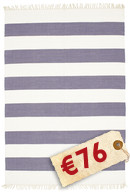 Cotton stripe - Purple carpet CVD4933
