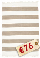 Cotton stripe - Brown-matto CVD4904