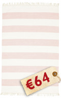 Cotton stripe - Pink carpet CVD4943
