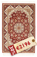 Isfahan silk warp signed: Mozaheri carpet RZZZA22