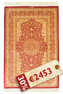 Qum silk signed: Vafai carpet BTC34
