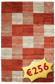 Tapis Cubicus - Red RVD4648