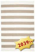 Cotton stripe - Brown matta CVD4902