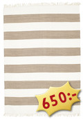 Cotton stripe - Brown matta CVD4904