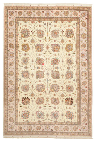Tabriz 50 Raj with silk carpet VAZZV35
