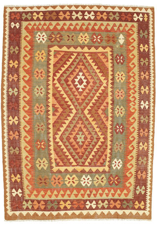 Kilim Afghan Old style carpet SER16