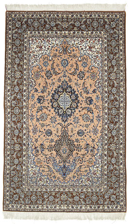 Isfahan silk warp carpet GHD150