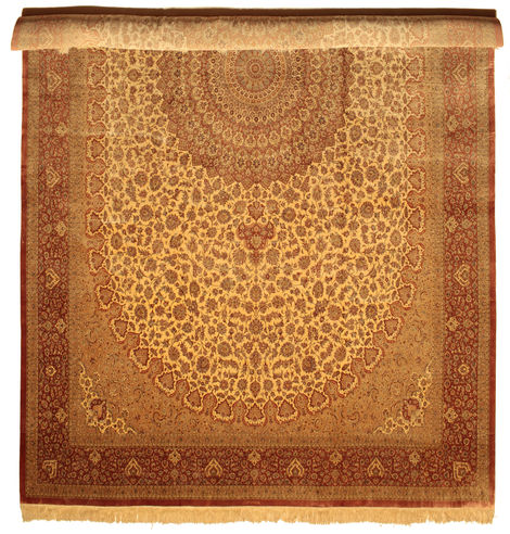 Qum silk signed: Shirazi 600x386