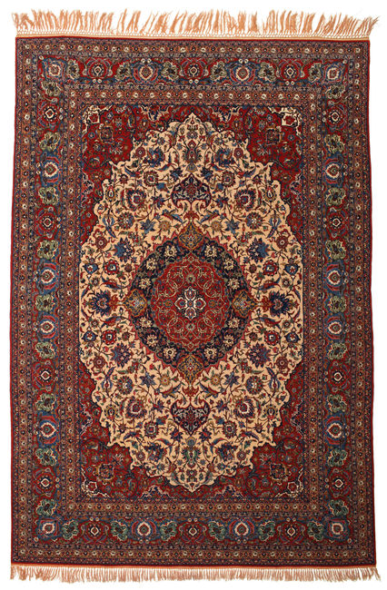 Isfahan silk warp 403x275