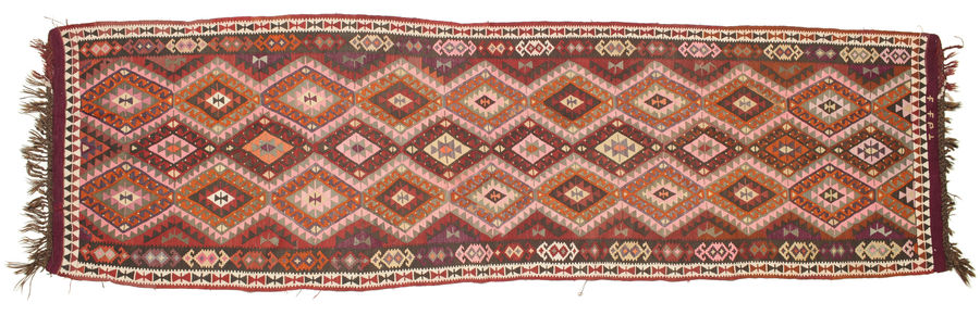 Kilim Kars carpet 434x124