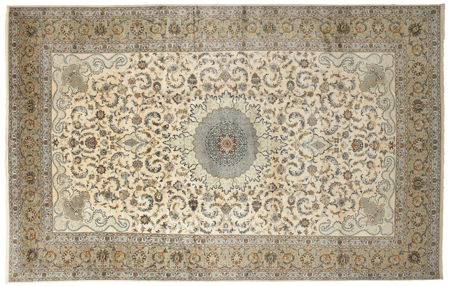 Keshan signed: Musavian carpet 575x365