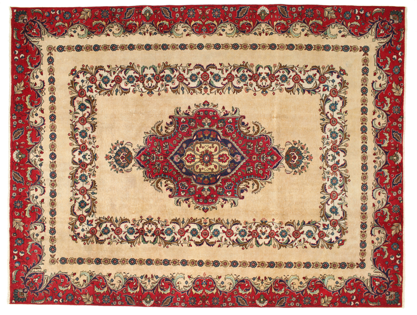 Tabriz Patina carpet 347x268