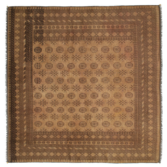 Afghan Natural carpet 197x190