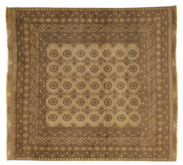 Afghan Natural carpet 205x190