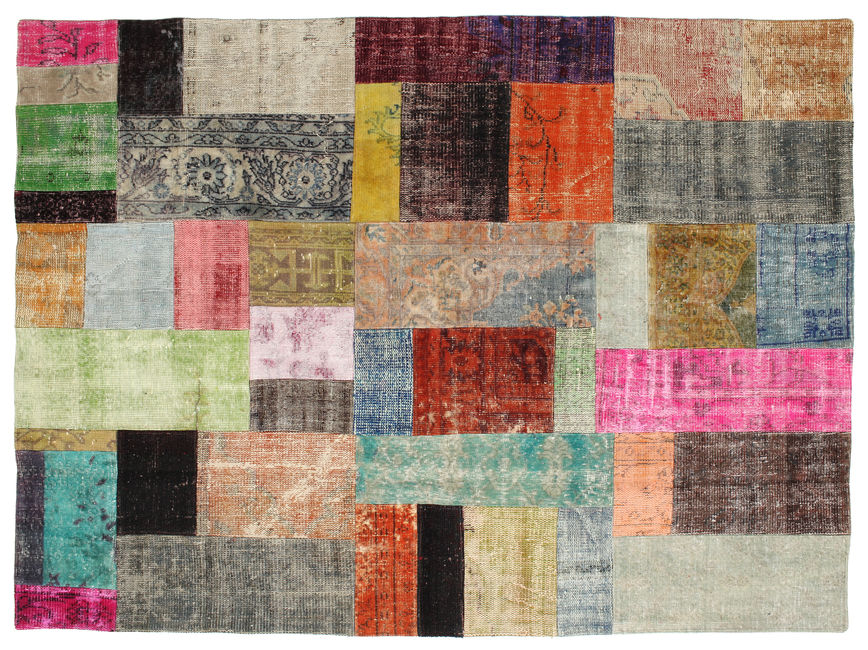 Patchwork carpet 234x173