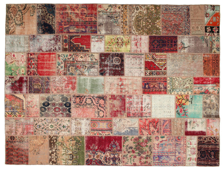 Patchwork carpet 366x277