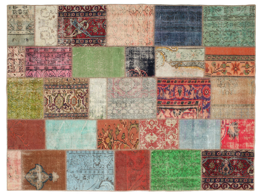 Patchwork carpet 235x173