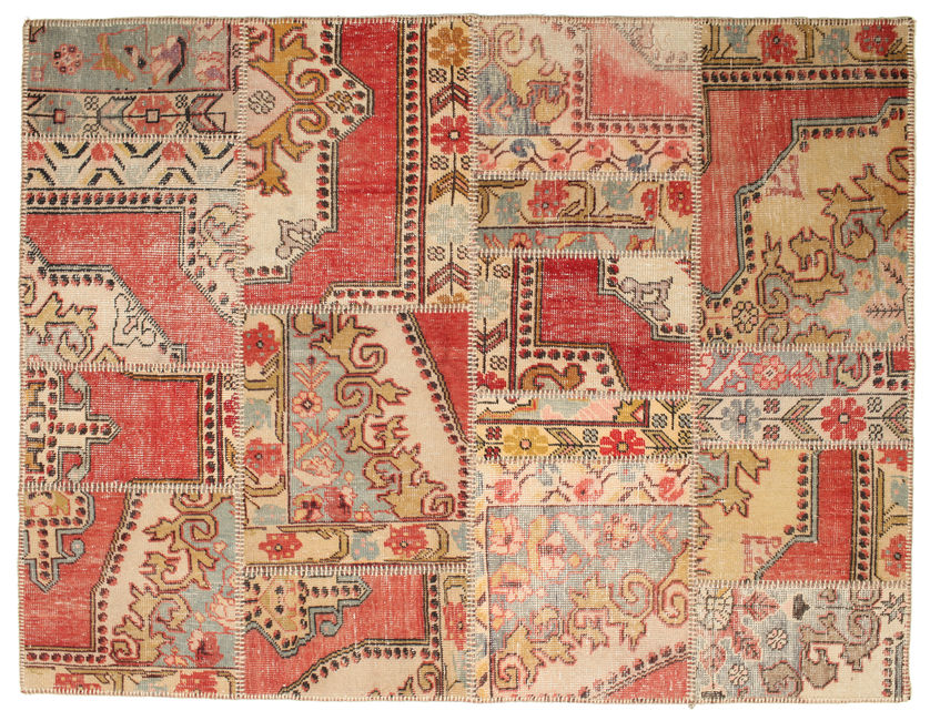 Patchwork carpet 197x150