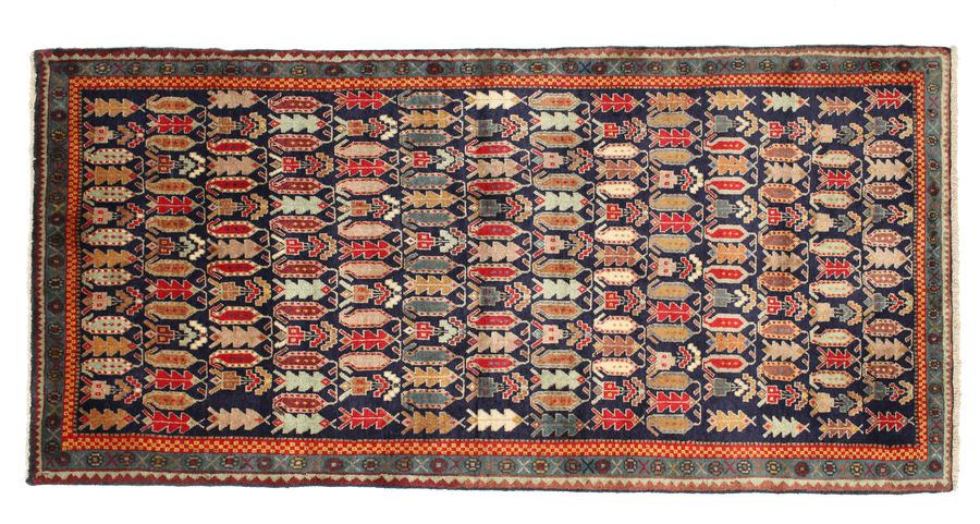 Afshar carpet 204x91