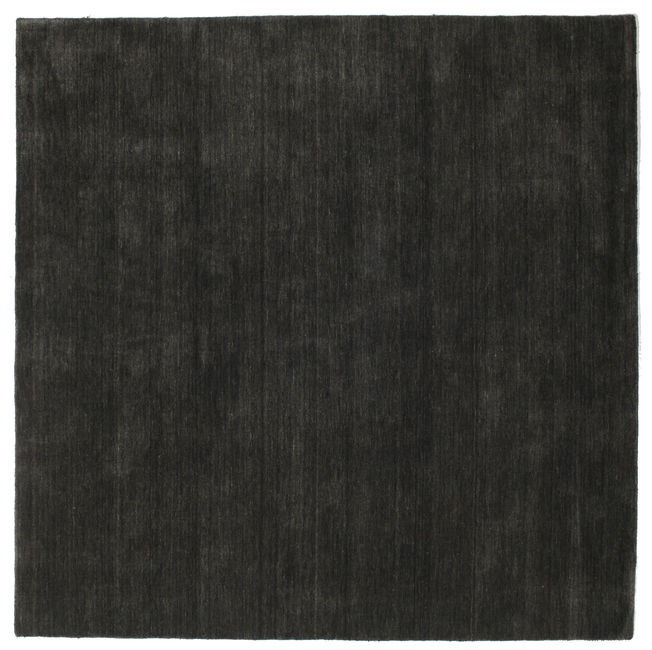 Handloom - Black/Dark Grey carpet 200x200