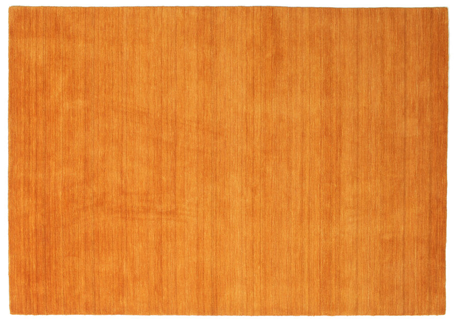 Handloom - Orange carpet 230x160