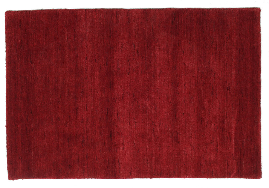 Handloom - Dark Red carpet 120x80