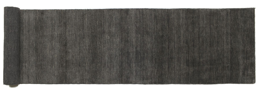 Handloom - Black/Dark Grey carpet 400x80