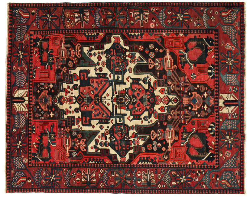 Bakhtiari Patina carpet 209x167