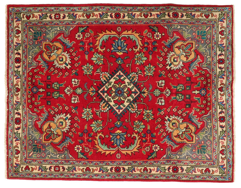 Tabriz Patina carpet 136x106