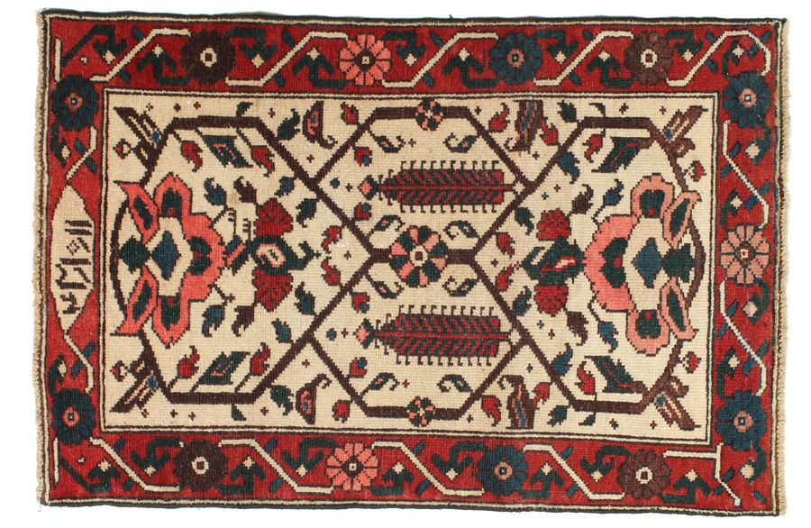 Bakhtiari Patina carpet 117x77