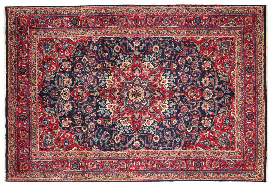 Keshan signed: Galabari carpet 296x197