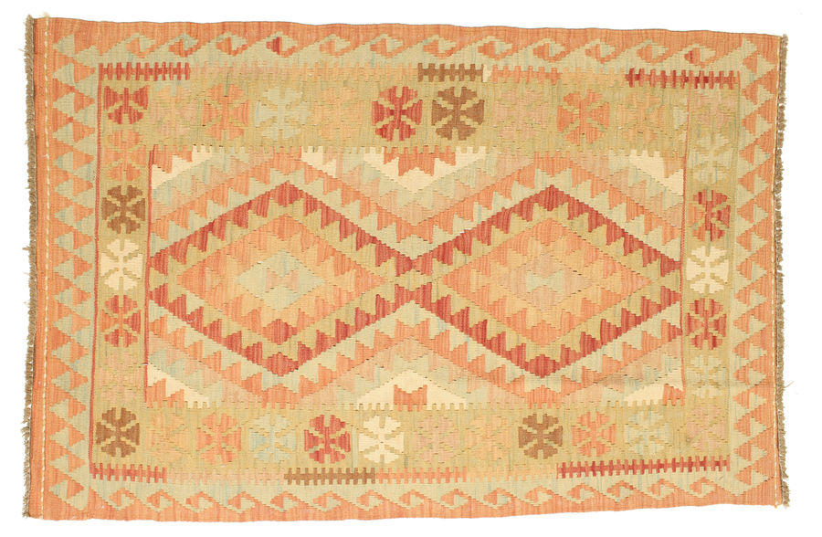 Kelim Afghan Old style-matto 147x101