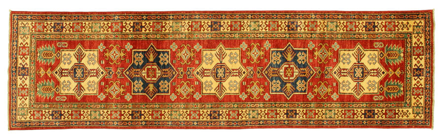 Kazak carpet 284x77