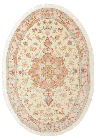 Tabriz 50 Raj with silk carpet 200x133