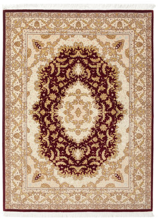 Tabriz 50 Raj with silk carpet 201x148