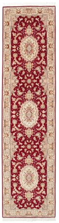 Tabriz 50 Raj with silk carpet 334x82