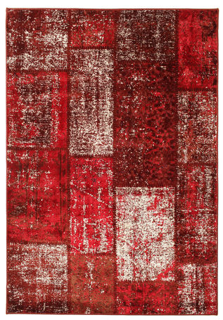 Weimar Patchwork - Red matta RVD3948