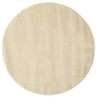 Handloom - Natural/Off white carpet  Ø 100