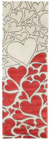 Hearts Variation carpet 250x80