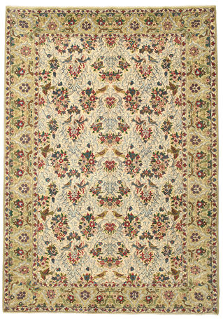 Najafabad Patina pictorial carpet 343x240