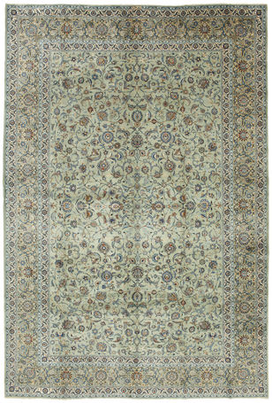 Keshan signed: Alaghemand carpet 505x340