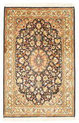 Kashmir pure silk carpet VEXG348