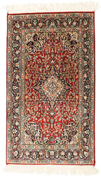 Kashmir pure silk carpet AMZT2