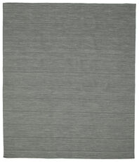 Kilim loom - Dark Grey rug CVD9126