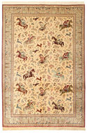 Qum silk carpet VAH43